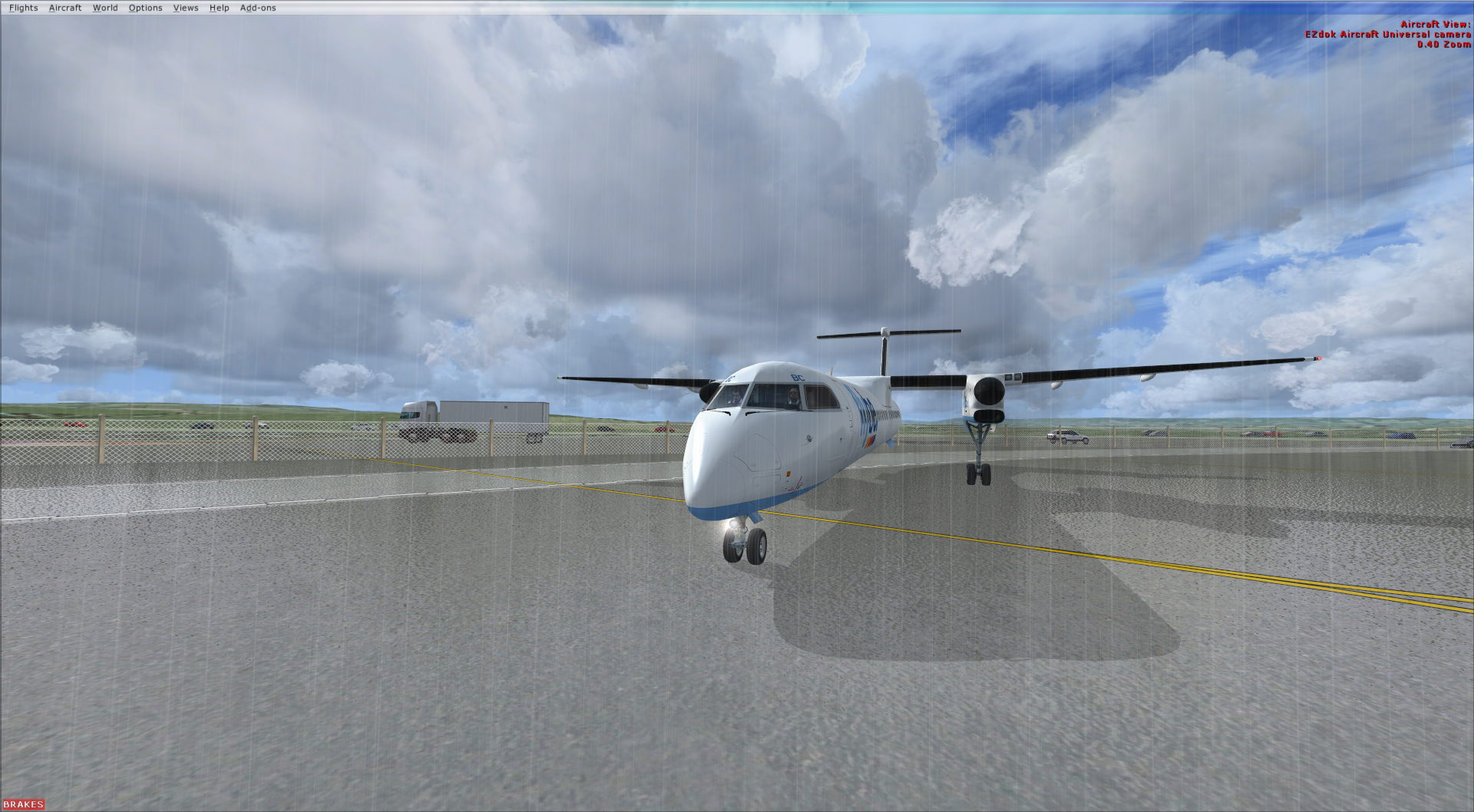 New FlyBe Route | Exeter To London City - Screenshots and Images